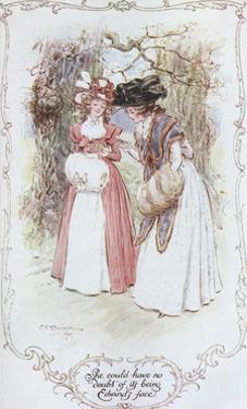 Austen, Sense and Sensibilt by C.e. Brock