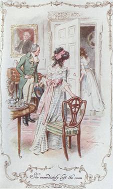 Austen, Ssense and Sensibli by C.e. Brock