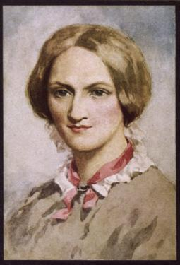 Charlotte Bronte Writer by C.e. Brock