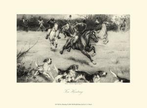 Fox Hunting by C.e. Brock