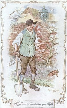 Gardener from Sense and Sensibility by C.e. Brock