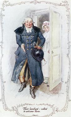 John Middleton, Austen by C.e. Brock