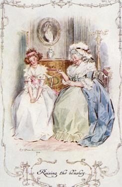 Marianne Dashwood, Austen by C.e. Brock