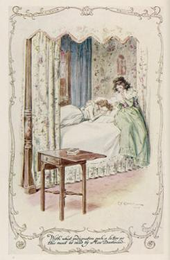Marianne Dashwood Receives Willoughby's Letter by C.e. Brock