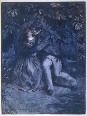 Mr. Rochester Declares His Love for Jane by C.e. Brock
