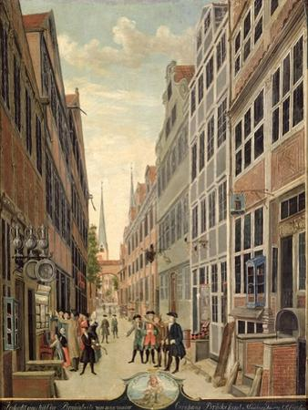 Brandstweite in Hamburg, 1775
