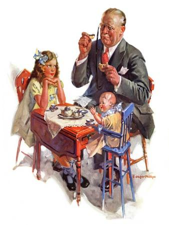 """Tea for Grandpa,""February 18, 1933"