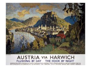 Austria Via Harwich by C^ Gorbatoff