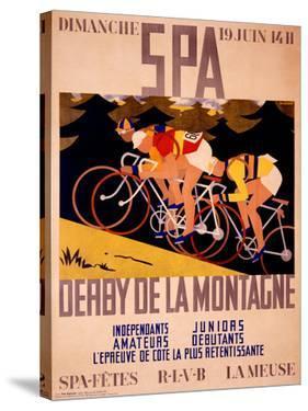 Spa Derby de la Montagne by C.H. Gilbert