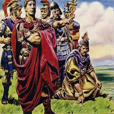 Following the Conquest of Gaul, Julius Caesar Set His Sights on Britain by C.l. Doughty
