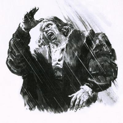 Luther Caught in a Thunderstorm by C.l. Doughty