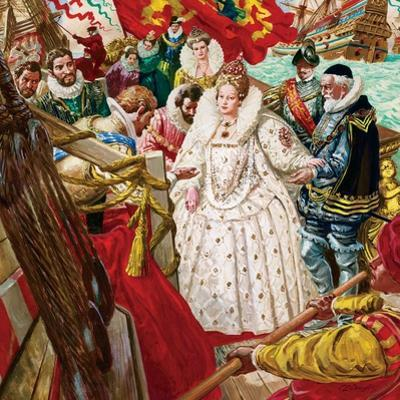 Queen Elizabeth I by C.l. Doughty