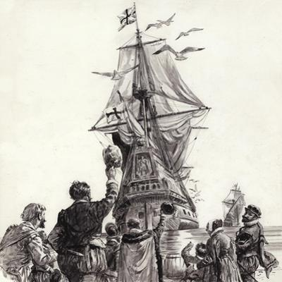 The Golden Hind by C.l. Doughty