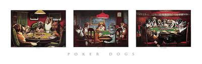 Poker Dogs by C. M. Coolidge