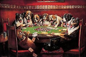 Poker Sympathy by C. M. Coolidge