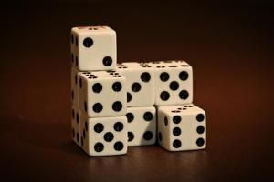 Dice Cubes I by C. McNemar