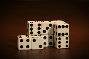 Dice Cubes II by C. McNemar