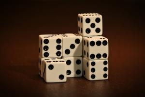 Dice Cubes III by C. McNemar