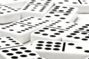 Dominos I by C. McNemar