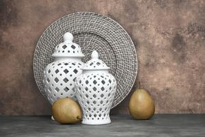 Ginger Jar and Pears II by C. McNemar