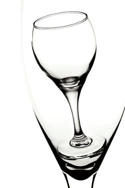 Graphic Wine Glasses by C. McNemar