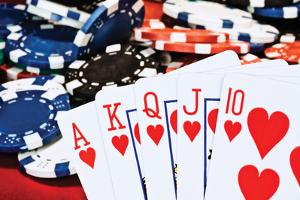 Poker Hand II by C. McNemar