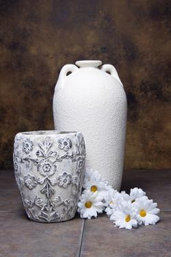 Vases with Daisies I by C. McNemar