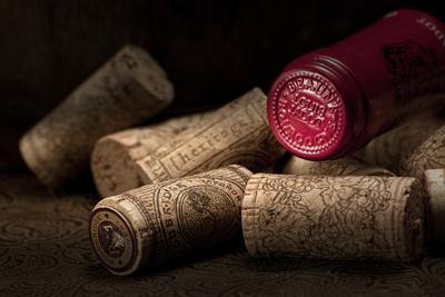 Wine Corks Still Life IV