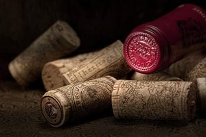 Wine Corks Still Life IV by C. McNemar