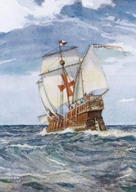 Columbuss Caravel Formerly the Marigalante by C.p. Carruthers