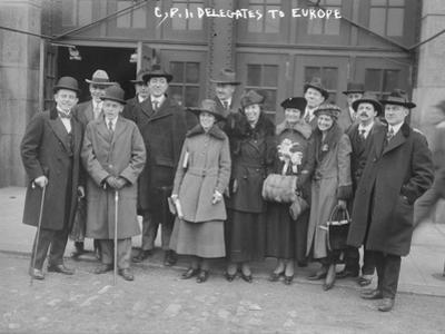 C.P.I. Delegates to Europe, 1917-8