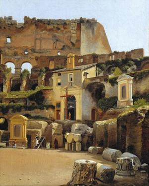 The Interior of the Colosseum in Rome by C.W. Eckersberg