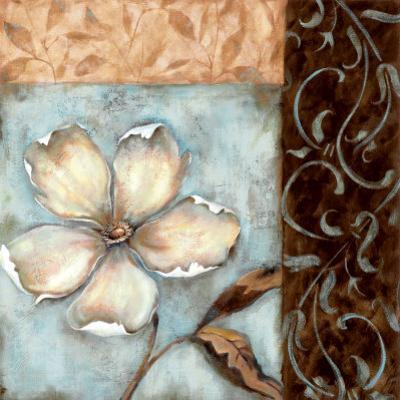 Blossoms on Blue I