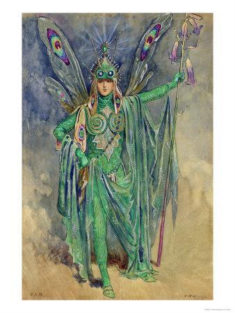 "Oberon, Costume ""A Midsummer Night's Dream"", Produced Courtneidge, Princes Theatre, Manchester"