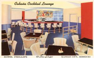 Cabana Cocktail Lounge, Kansas City, Missouri