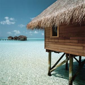 Cabana Raised Above the Ocean