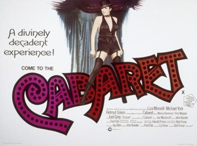 Cabaret, British Poster Art, Liza Minnelli, 1972