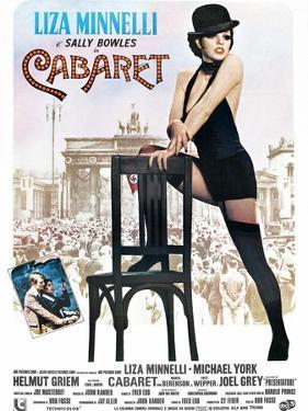 Cabaret, Italian Poster, Liza Minnelli, Michael York, Liza Minnelli, 1972