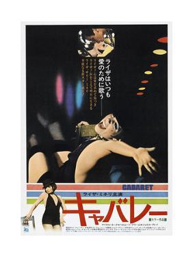 Cabaret, Japanese poster, Michael York, Liza Minnelli, 1972