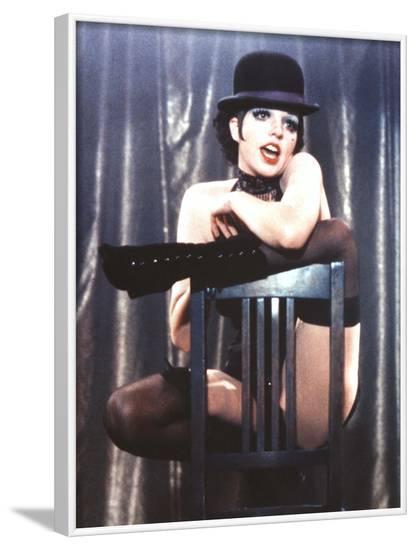 Cabaret, Liza Minnelli, 1972--Framed Photo