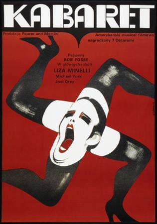 Cabaret, Polish poster, Liza Minelli, 1972