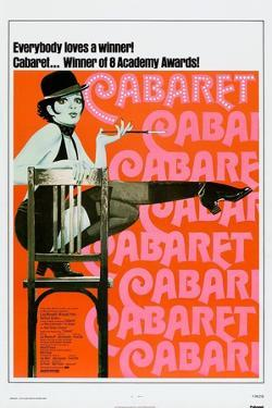 Cabaret, US poster, Liza Minnelli, 1972