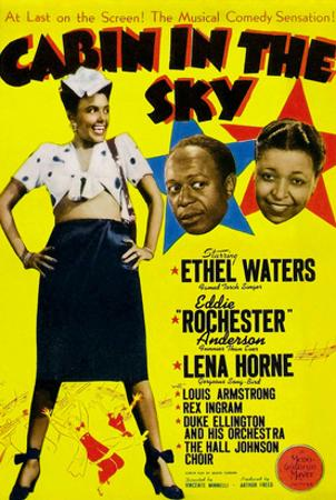 Cabin In The Sky, Lena Horne, Eddie 'Rochester' Anderson, Ethel Waters, 1943
