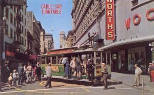 Cable Car Turn-Table, San Francisco, California