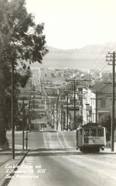Cable Cars, Fillmore Street, San Francisco, California