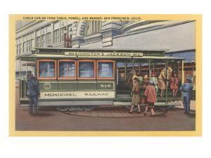 Cablecar, San Francisco, California