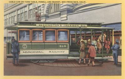 Cablecar, San Francisco, California
