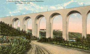 Cabrillo Bridge, Balboa Park, San Diego, California