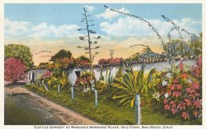Cactus Garden, Old Town, San Diego, California