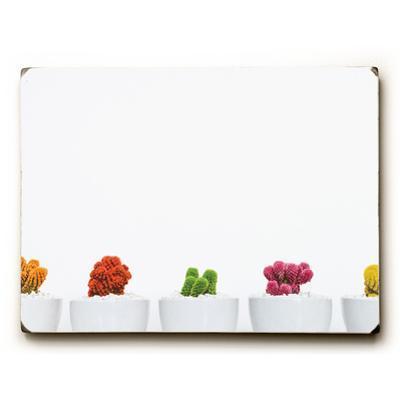Cactus Row - White